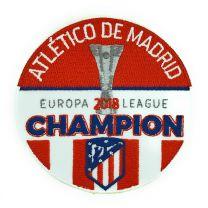Parche Termoadhesivo Atlético de Madrid Campeones Uefa Europa League 2018 9cm