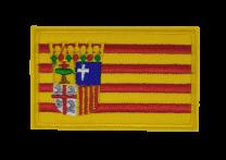 Parche Termoadhesivo Bandera Aragon 7,5x5cm