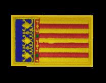 Parche Termoadhesivo Bandera Comunidad Valenciana 7,5x5cm
