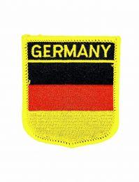 Parche Termoadhesivo Bandera escudo Alemania 7x6 cm