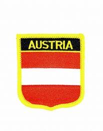 Parche Termoadhesivo Bandera escudo Austria 7x6 cm