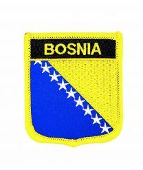 Parche Termoadhesivo Bandera escudo Bosnia 7x6 cm