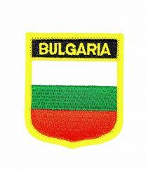 Parche Termoadhesivo Bandera escudo Bulgaria 7x6 cm