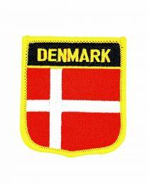 Parche Termoadhesivo Bandera escudo Dinamarca 7x6 cm
