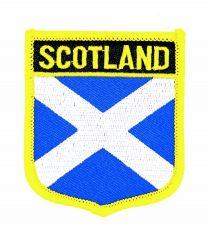 Parche Termoadhesivo Bandera escudo Escocia 7x6 cm