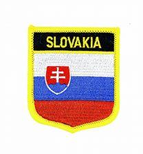 Parche Termoadhesivo Bandera escudo Eslovaquia 7x6 cm