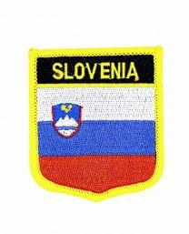 Parche Termoadhesivo Bandera escudo Eslovenia 7x6 cm