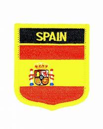 Parche Termoadhesivo Bandera escudo España 7x6 cm