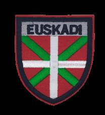 Parche Termoadhesivo Bandera Escudo Euskadi 7,8x7cm