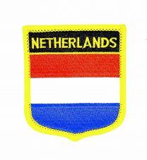 Parche Termoadhesivo Bandera escudo Holanda 7x6 cm