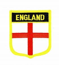 Parche Termoadhesivo Bandera escudo Inglaterra 7x6 cm