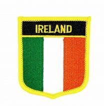 Parche Termoadhesivo Bandera escudo Irlanda 7x6 cm