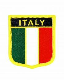 Parche Termoadhesivo Bandera escudo Italia 7x6 cm
