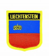 Parche Termoadhesivo Bandera escudo Liechtestein 7x6 cm