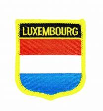 Parche Termoadhesivo Bandera escudo Luxemburgo 7x6 cm