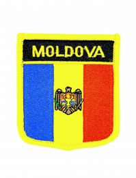 Parche Termoadhesivo Bandera escudo Moldavia 7x6 cm