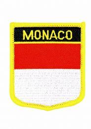 Parche Termoadhesivo Bandera escudo Monaco 7x6 cm
