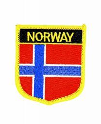 Parche Termoadhesivo Bandera escudo Noruega 7x6 cm