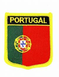 Parche Termoadhesivo Bandera escudo Portugal 7x6 cm