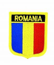 Parche Termoadhesivo Bandera escudo Rumania 7x6 cm
