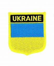 Parche Termoadhesivo Bandera escudo Ucrania 7x6 cm