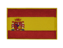 Parche Termoadhesivo Bandera España 7,8x5cm