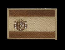 Parche Termoadhesivo Bandera España Marron 7,8x5cm