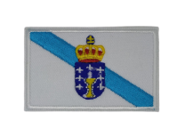 Parche Termoadhesivo Bandera Galicia 7,5x5cm