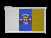 Parche Termoadhesivo Bandera Islas Canarias 7,5x5cm
