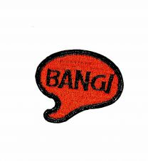Parche Termoadhesivo Bang! 4,5x4 cm