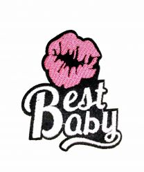 Parche Termoadhesivo Best Baby  8x5,5 cm