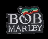 Parche Termoadhesivo Bob Marley 8,5x6 cm
