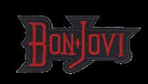 Parche Termoadhesivo Bon Jovi 8,5x4cm
