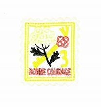 Parche Termoadhesivo Bonne courage  6,5x5,5 cm