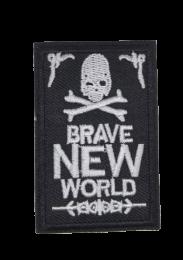 Parche Termoadhesivo Brave New World 7x4,5 cm