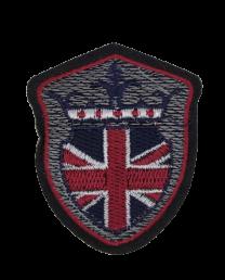 Parche Termoadhesivo Brittish Shield 7x5,5 cm