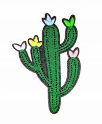 Parche Termoadhesivo Cactus 10,5x7 cm
