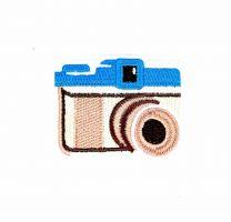 Parche Termoadhesivo Camara fotos 1 6,5x5 cm
