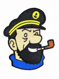 Parche Termoadhesivo Capitán Haddock 10x7 cm