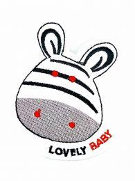 Parche Termoadhesivo Cebra Lonely Baby 10x7
