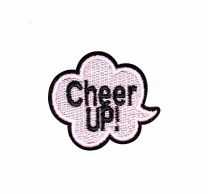 Parche Termoadhesivo Cheer Up! 5,5x5 cm