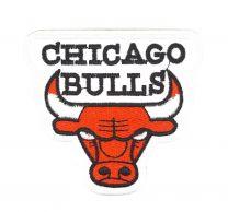 Parche Termoadhesivo Chicago Bulls 9x8,5cm