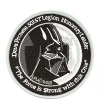 Parche Termoadhesivo Darth Vader Modelo 2 Tamaño 10cm