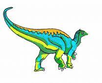Parche Termoadhesivo Dinosaurio Hervíboro 10x6cm