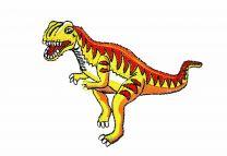 Parche Termoadhesivo Dinosaurio T-Rex 9x8cm