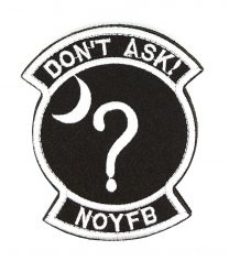 Parche Bordado Do Not Ask NOYFB 9,5cm
