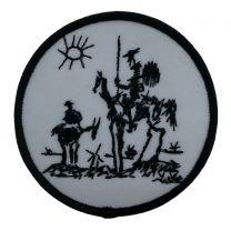 Parche Termoadhesivo Don Quijote de la Mancha 7cm