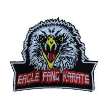 Parche Termoadhesivo Eagle Fang Karate - Colmillo de Aguila - Cobra Kai 9x7,5cm