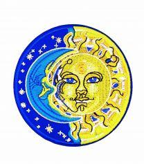 Parche Termoadhesivo Eclipse 9cm