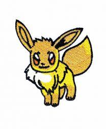 Parche Termoadhesivo Eevee Pokemon 7x6,5 cm